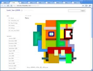Percy, 20090101, HTML, 450 x 450 pixels